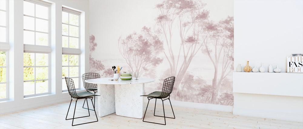 Mural - Tree Pink (Per Sqm)