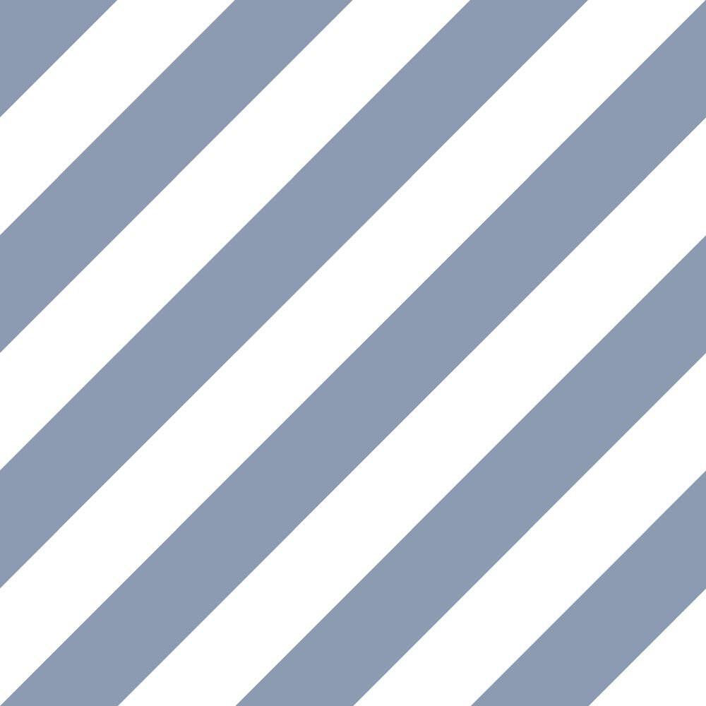 Diagonal Stripe - Blue