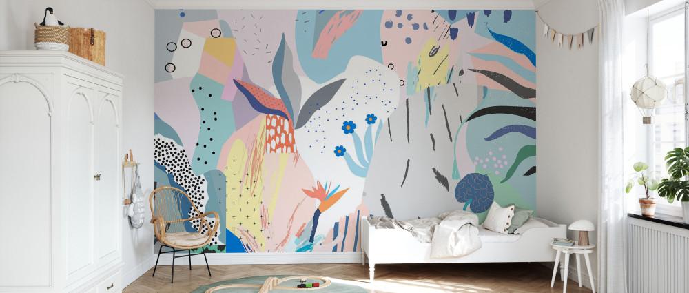 Mural - Flowery (Per Sqm)