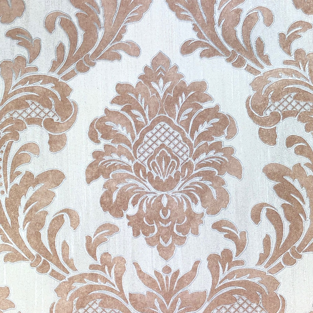 MILANO DAMASK - ROSE GOLD (LAST ROLL AVAIL.)