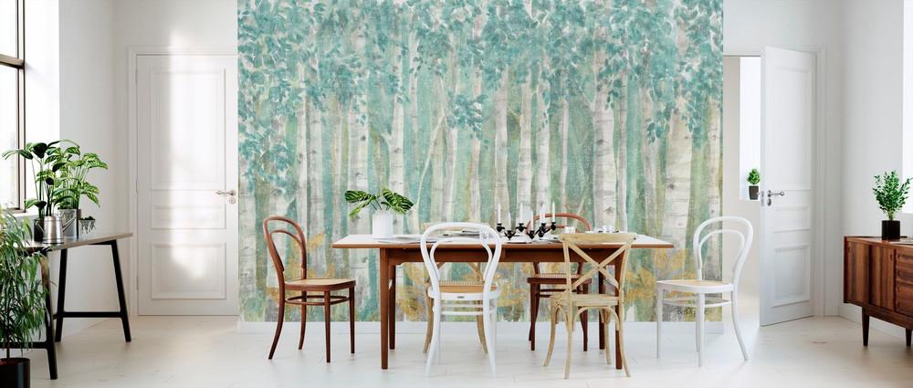 Mural - Nature Leaves (Per Sqm)