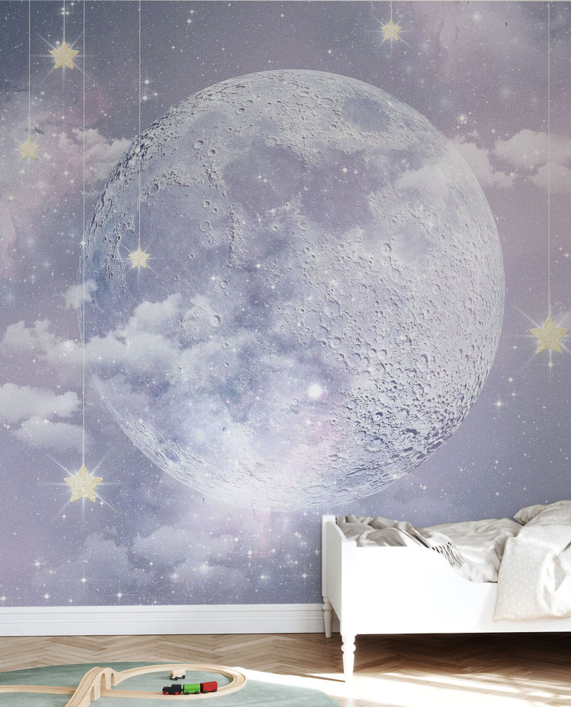Mural - Moon And Stars (Per Sqm)