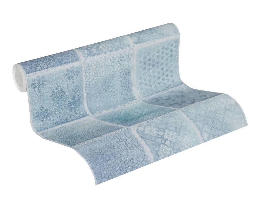 Neue Bude Tile - Blue