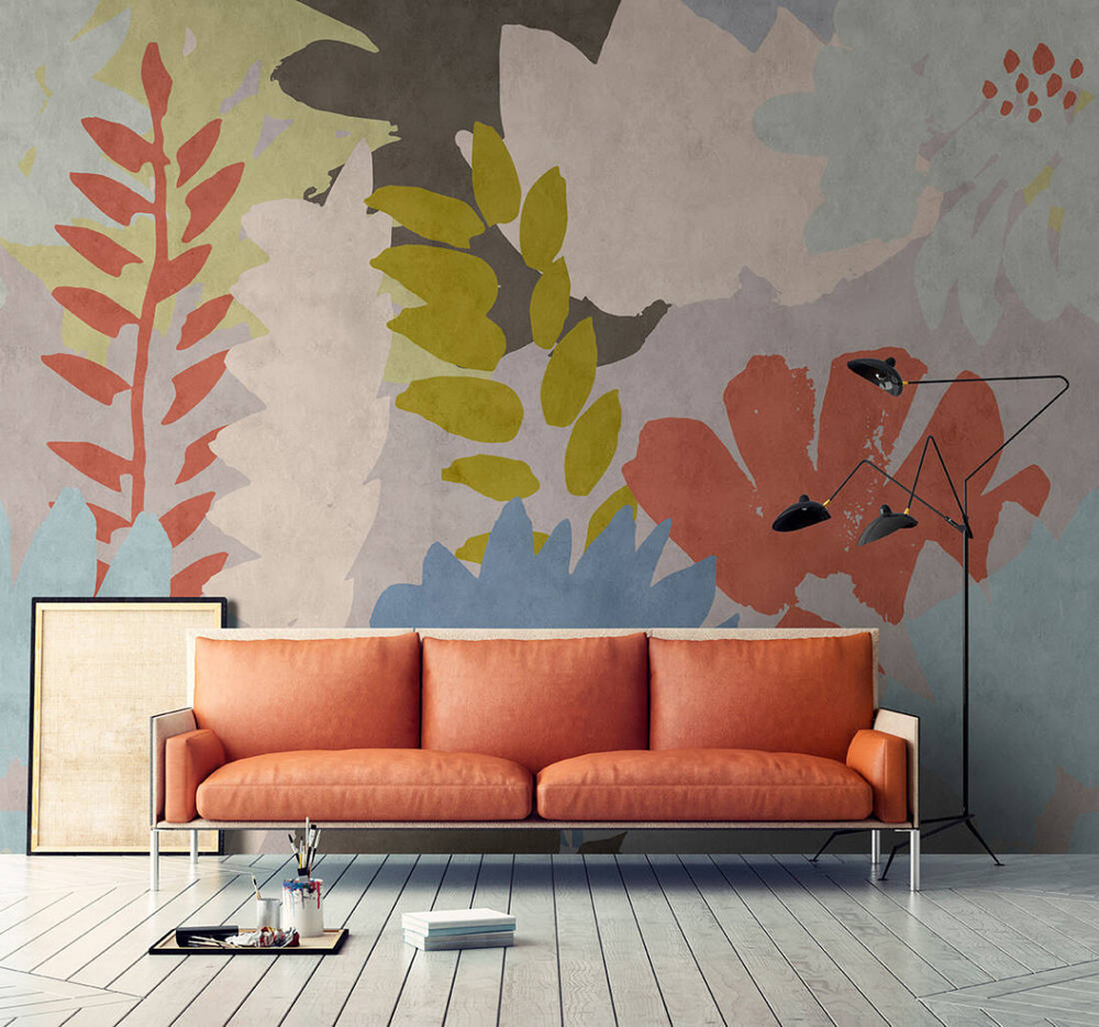 MURAL - FLORAL COLLAGE 1 (4m x 2.7m)