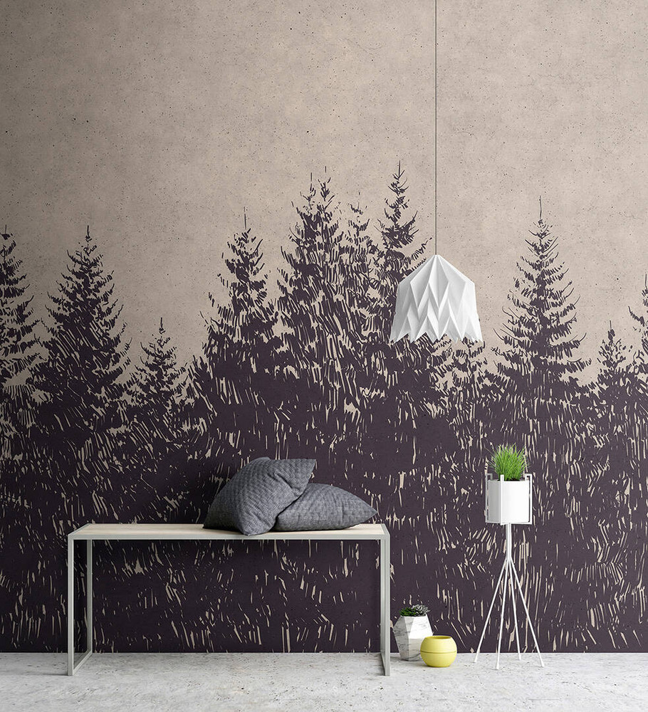 Mural - Black Forest 1 (4m X 2.7m)