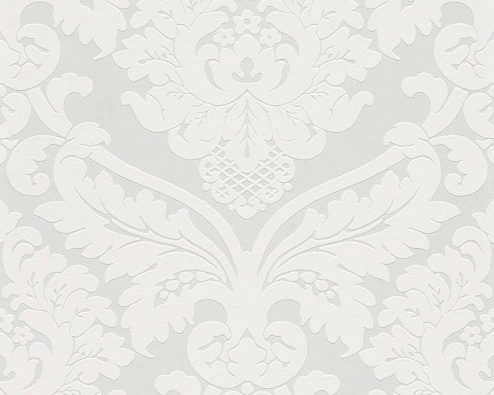 Baroque - Metallic White