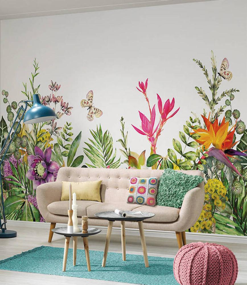 MURAL - MOTLEY FLOWERS (3.55m x 2.55m)