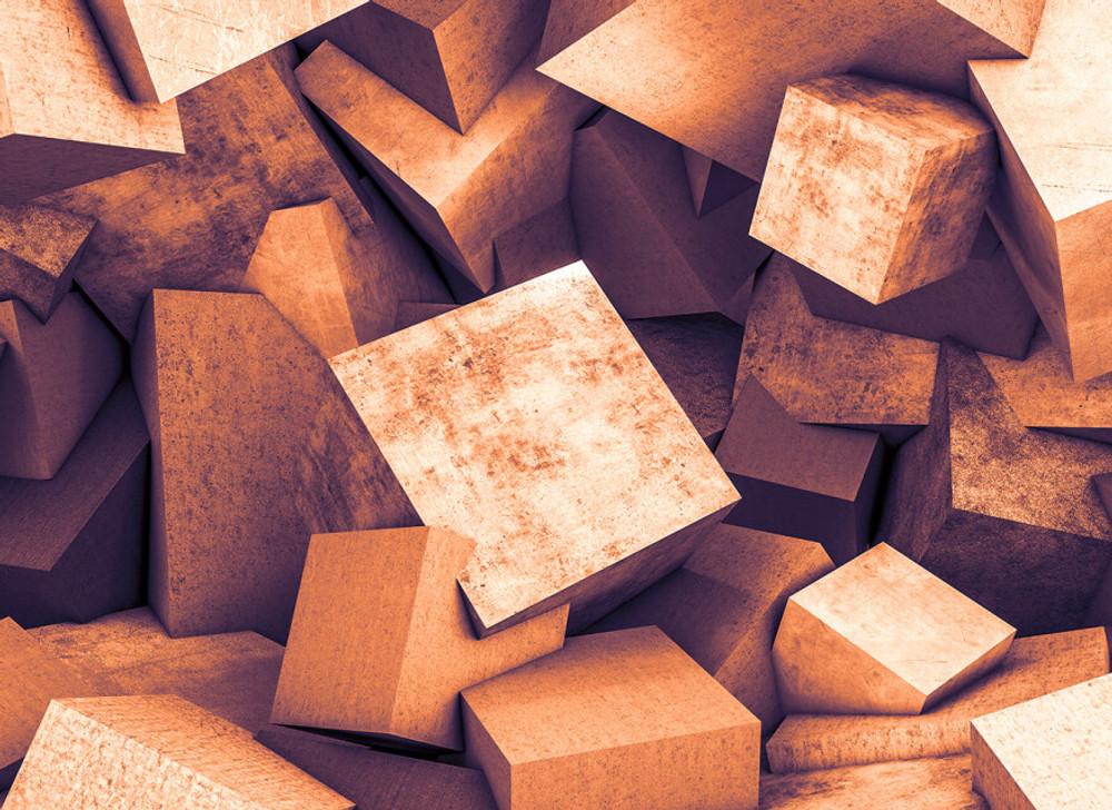 Mural - Blocks (3.5m X 2.55m)