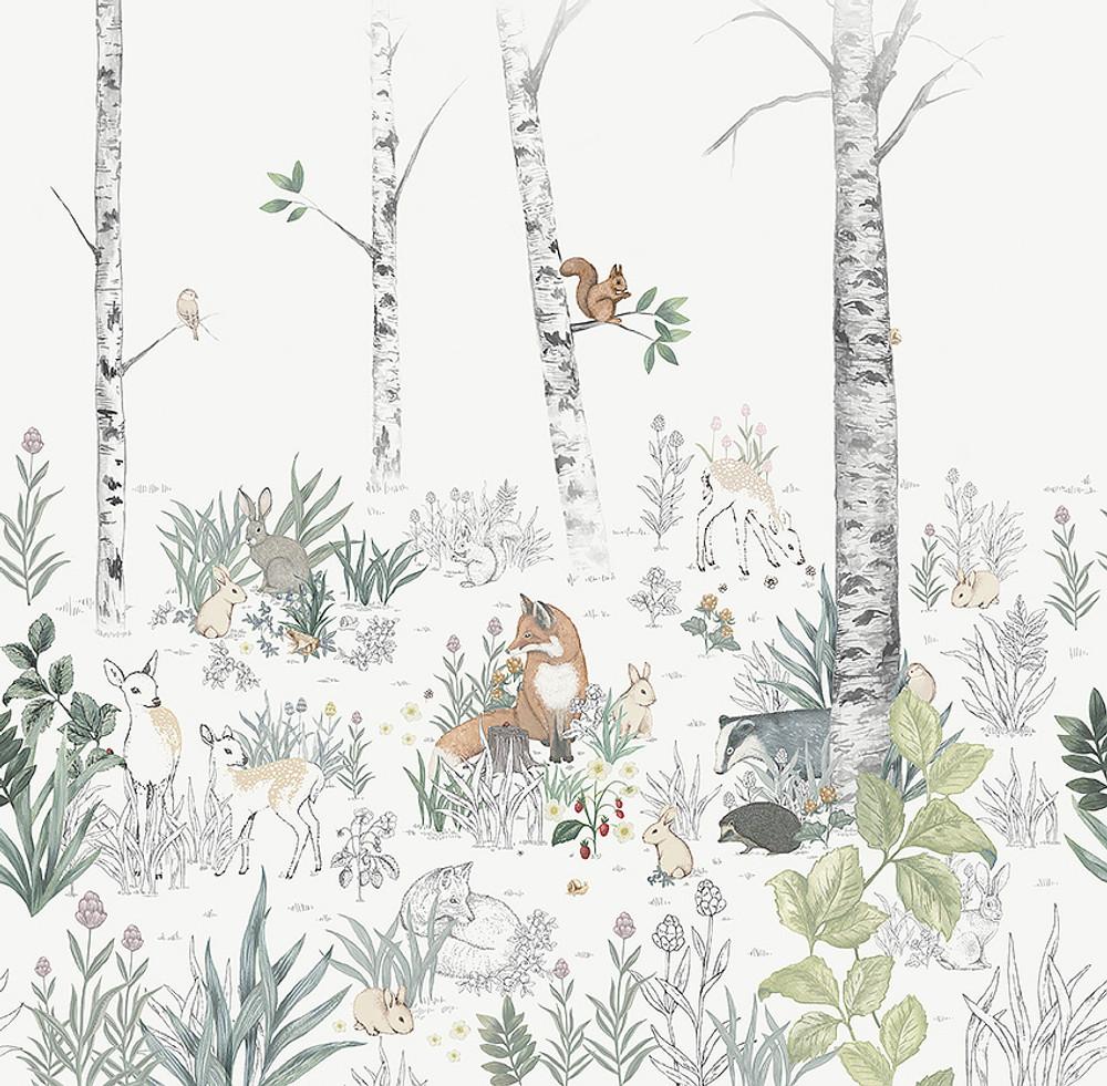 MURAL - MAGIC FOREST (2.7m x 2.65m)