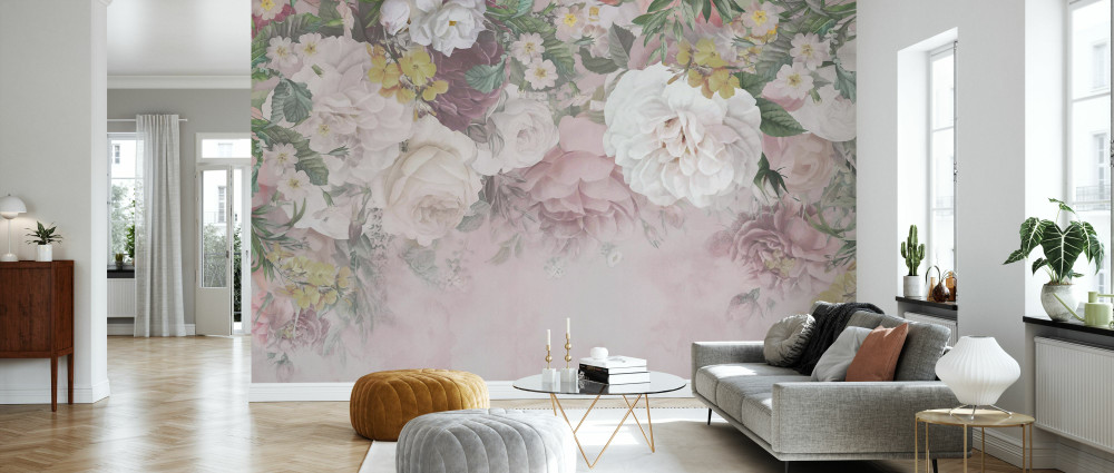 MURAL - GENTLE FLOWERS (PER SQM)