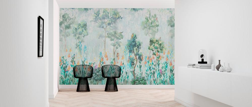 Mural - Morning Vegetation (Per Sqm)