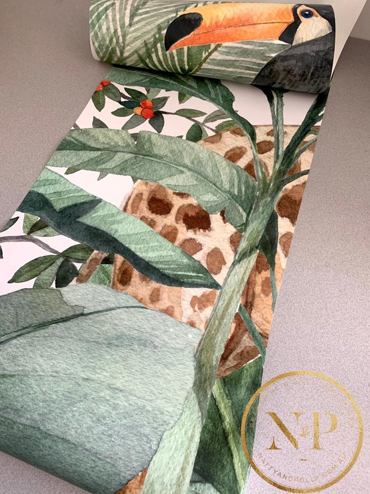 Mural - Jungle Friends (Per Sqm)