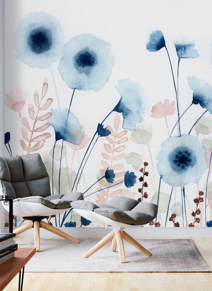 Mural - Sweet Flower Field (Per Sqm)