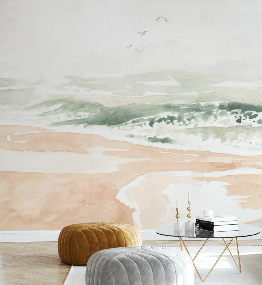 Mural - Sandy Surf (Per Sqm)