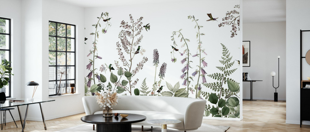 Mural - Hummingbird Hedge (Per Sqm)