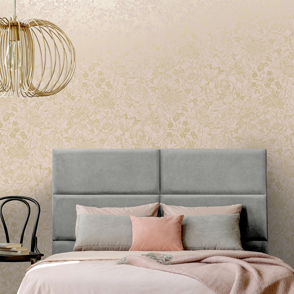 Imogen - Soft Pink / Gold