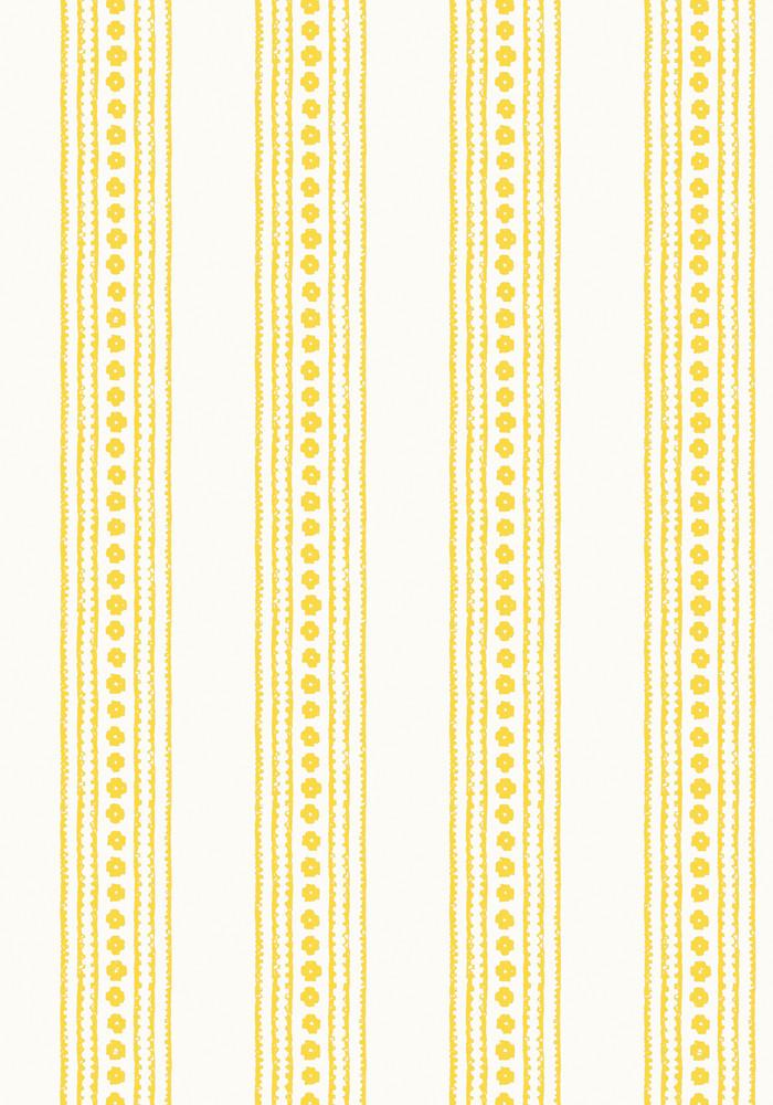 New Haven Stripe - Yellow / Cream