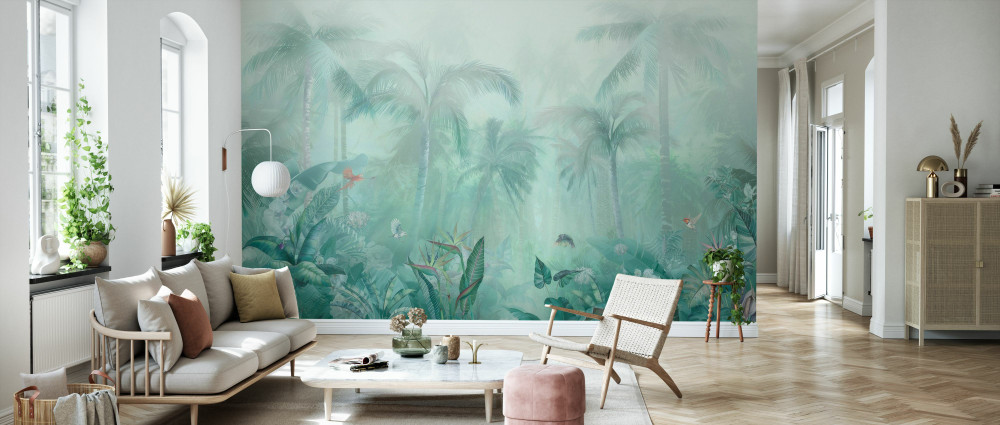 MURAL - GREEN FOREST (PER SQM)