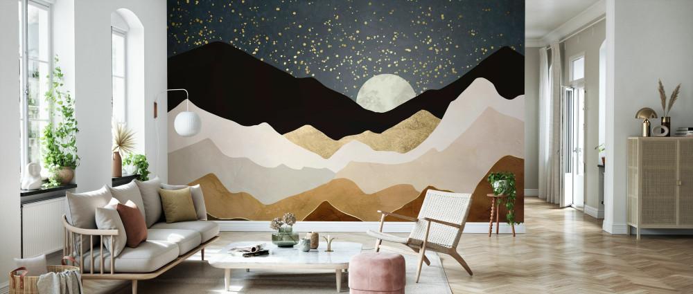 Mural - Golden Stars (Per Sqm)