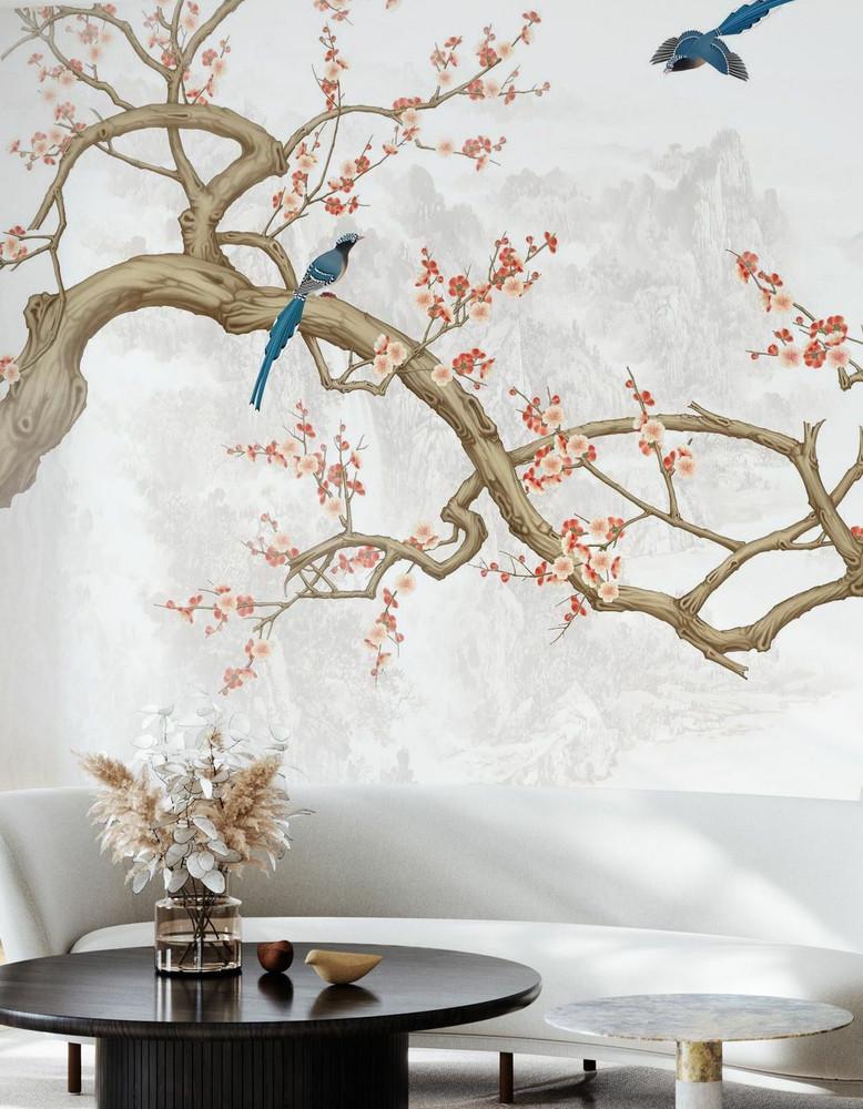 Mural - Bird Heights (Per Sqm)