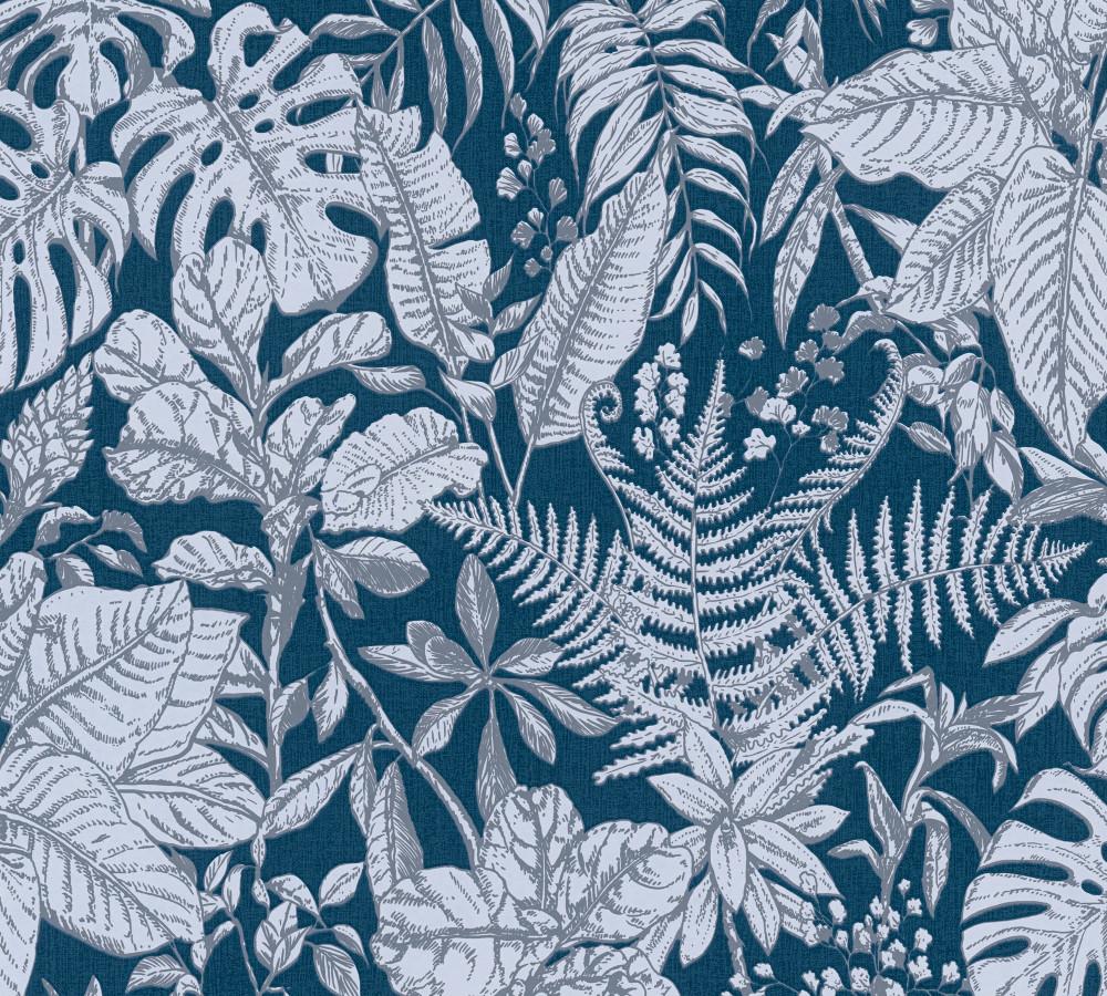 HECHTER PALM - NAVY BLUE