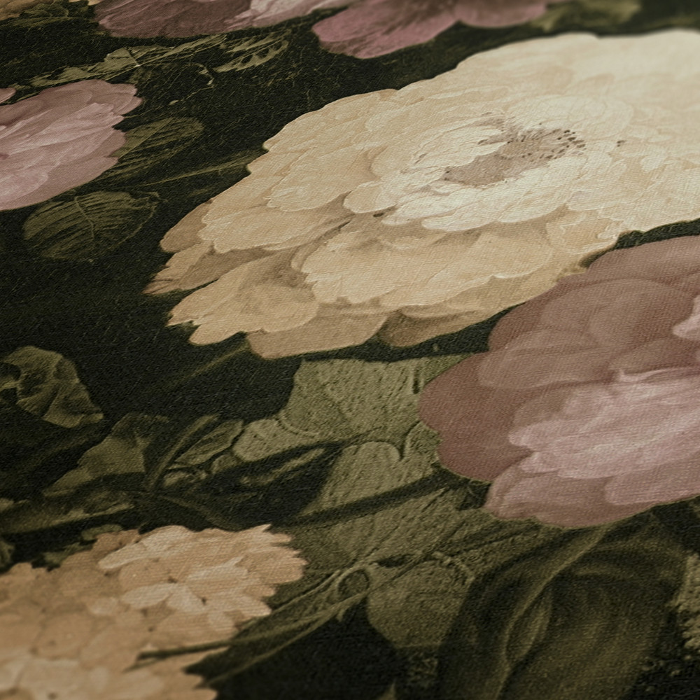 HISTORY FLORAL - CREAM / PINK