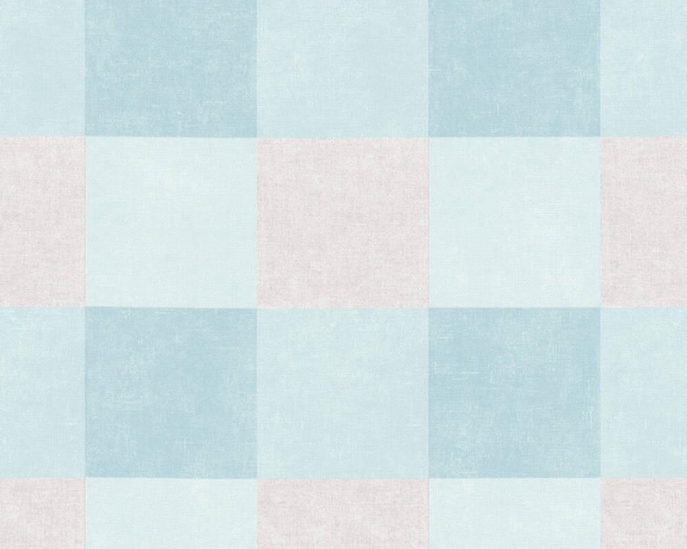 CHECK - BLUE / GREY