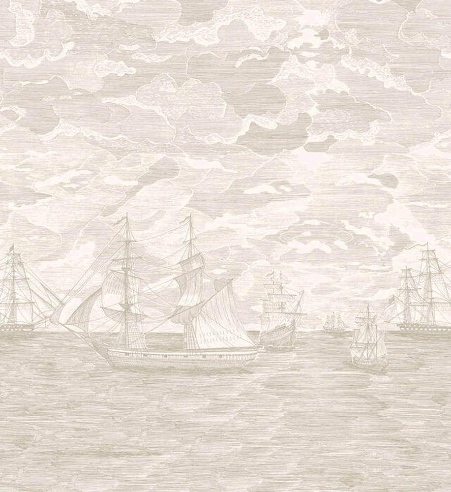 Mural - Sail Away Cream (Per Sqm)