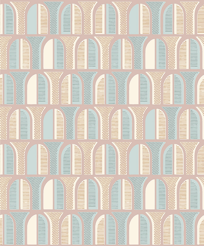 Venice - Pastel Pink / Blue