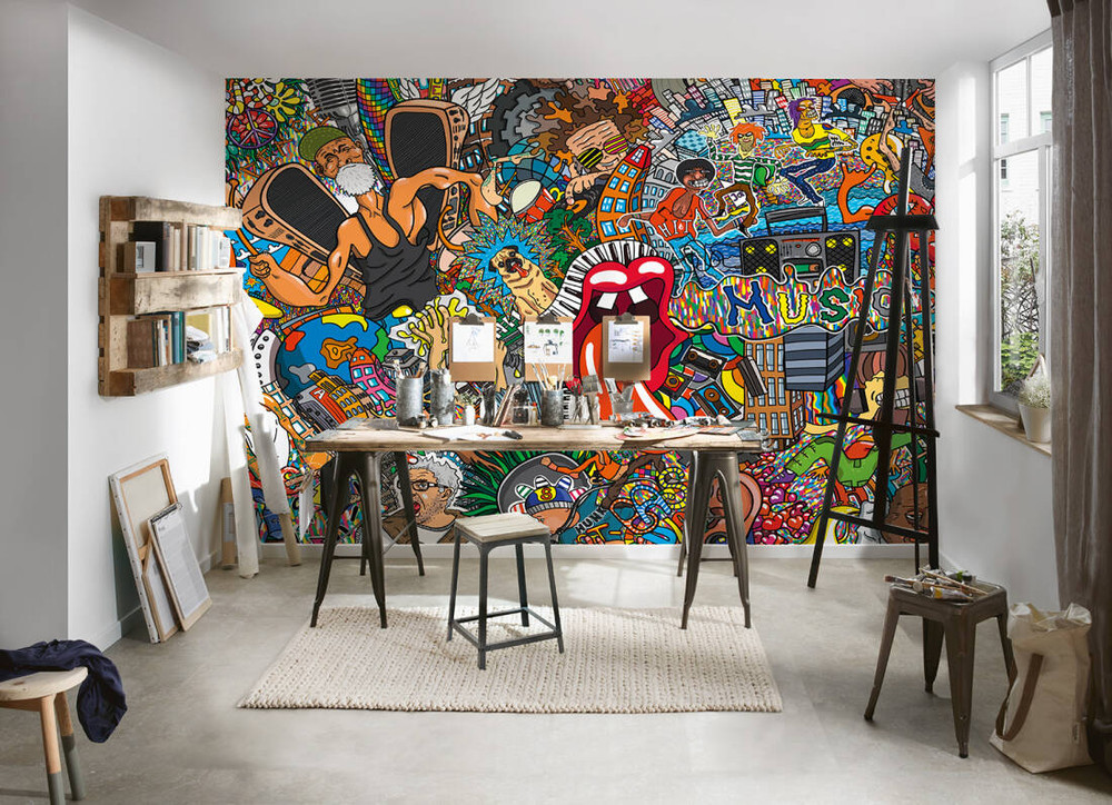 MURAL - GRAFITY (4m x 2.7m)