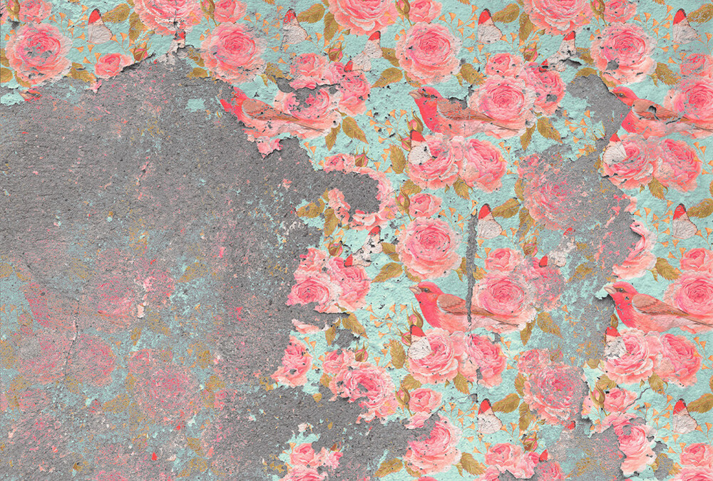 Mural - Relic Floral (4m X 2.7m)