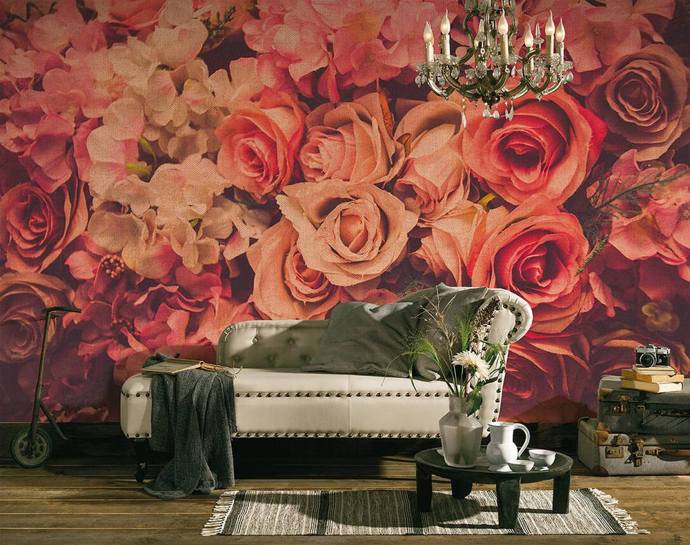 Mural - Flower Wall (3.5m X 2.55m)