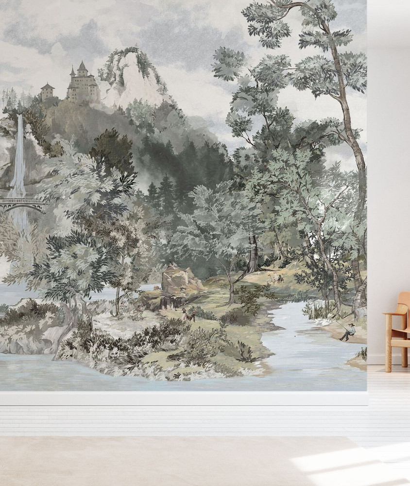 Mural - Fairytale Scenery (Per Sqm)