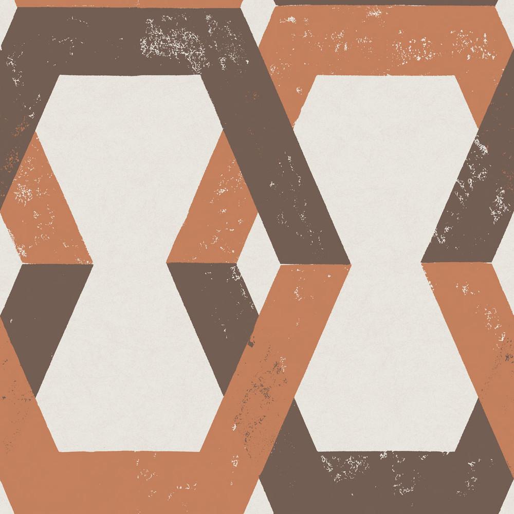 Tribe - Rusty Orange (1 Roll Avail.)