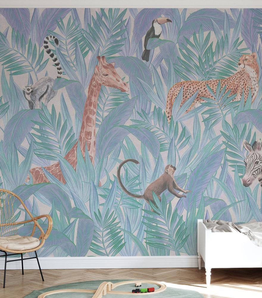 Mural - Inside The Foliage III (Per Sqm)