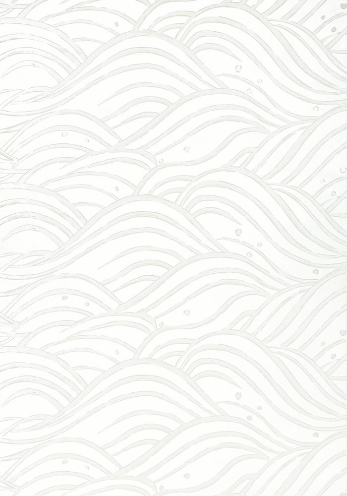 Waves - Metallic Pearl / White