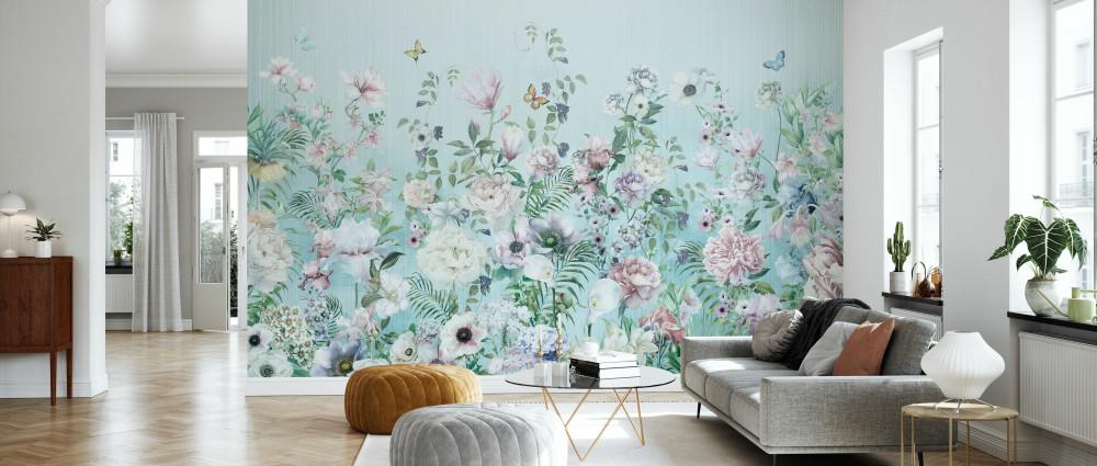 Mural - Blooming Floral (Per Sqm)