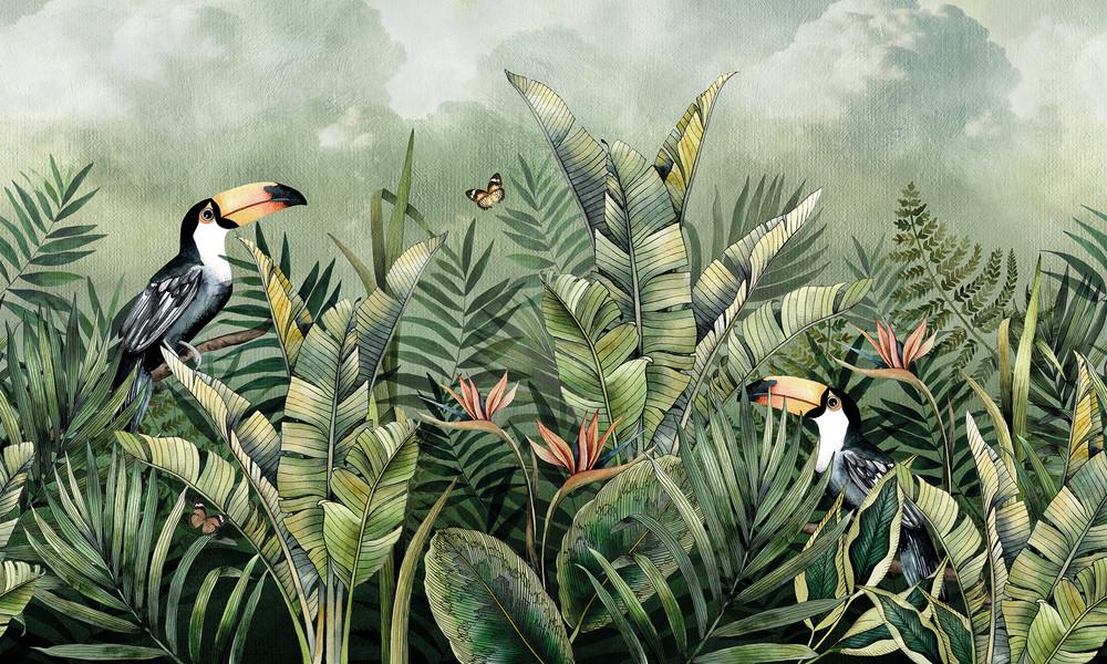 Mural Cloud Forest (Per Sqm)