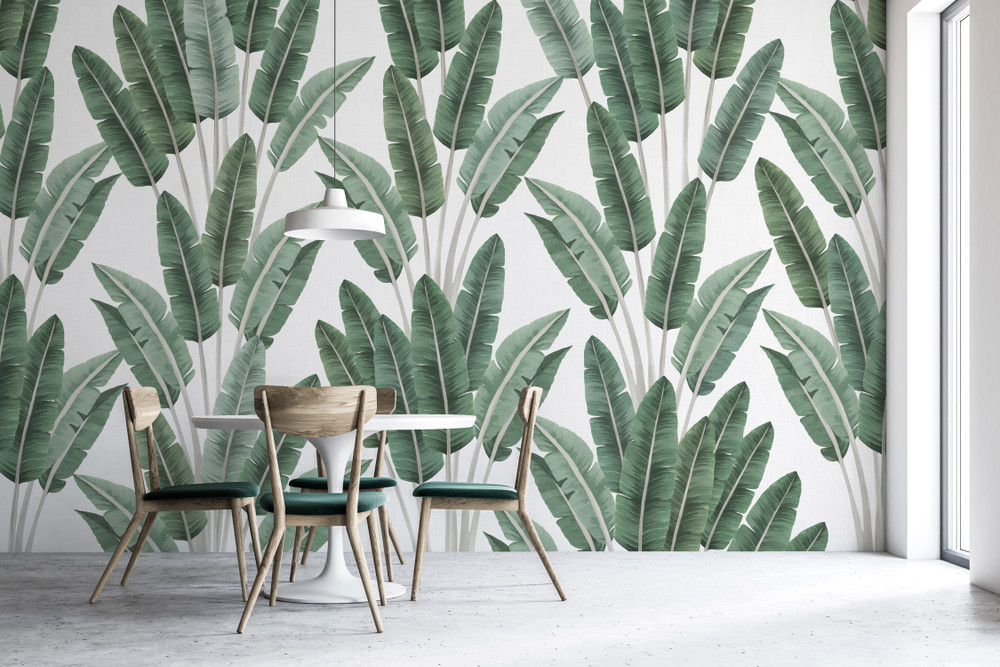 MURAL - PALMS GREEN (PER SQM)