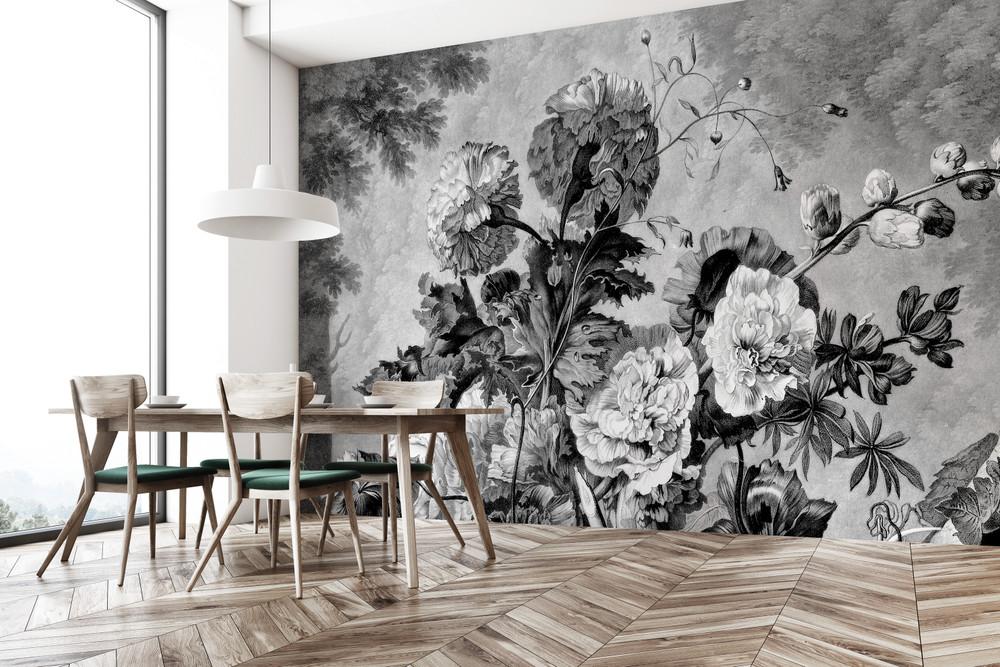 Mural - Still Life Monochrome (Per Sqm)