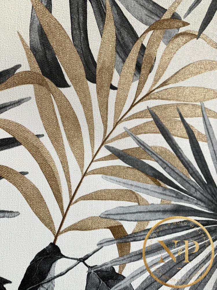 Jungle Wall - Black / Bronze