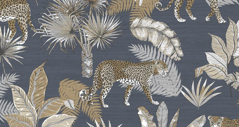 Leopard - Charcoal