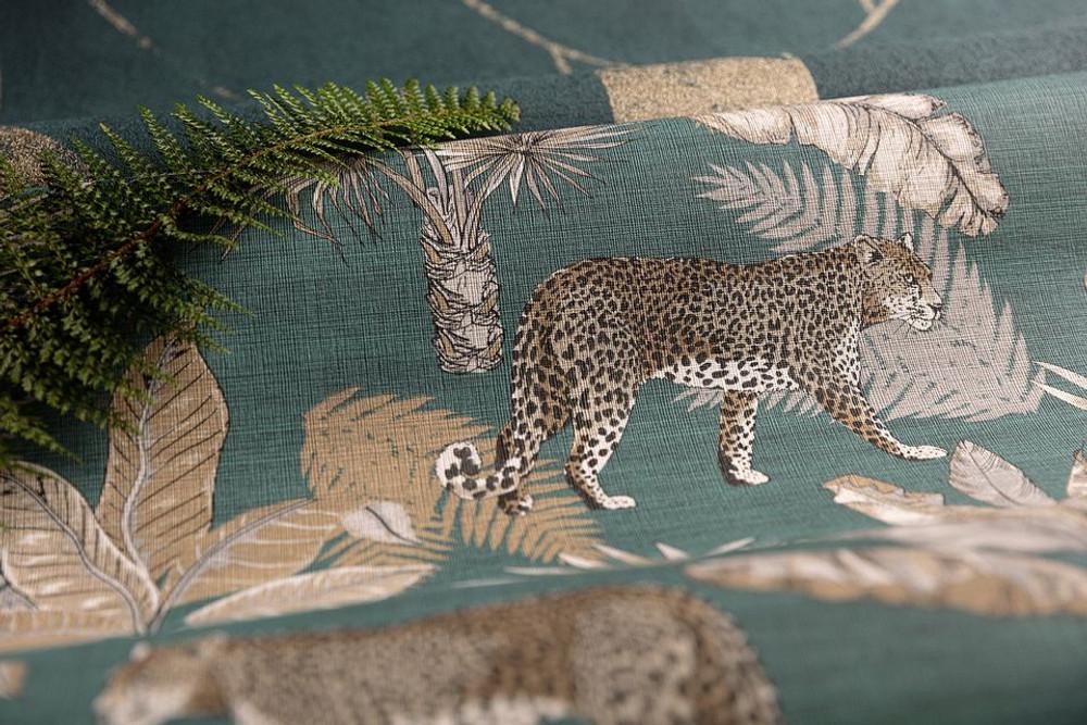 Leopard - Teal