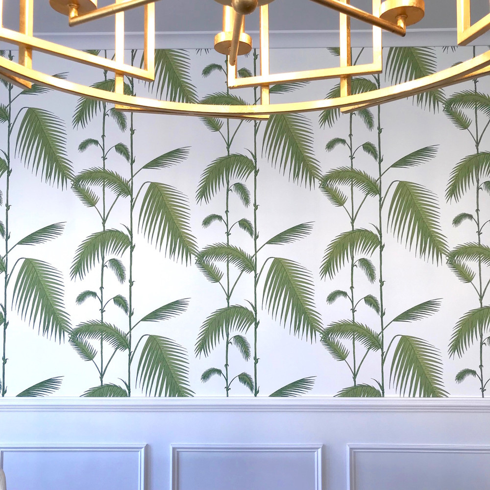 PALM LEAVES - FOREST GREEN