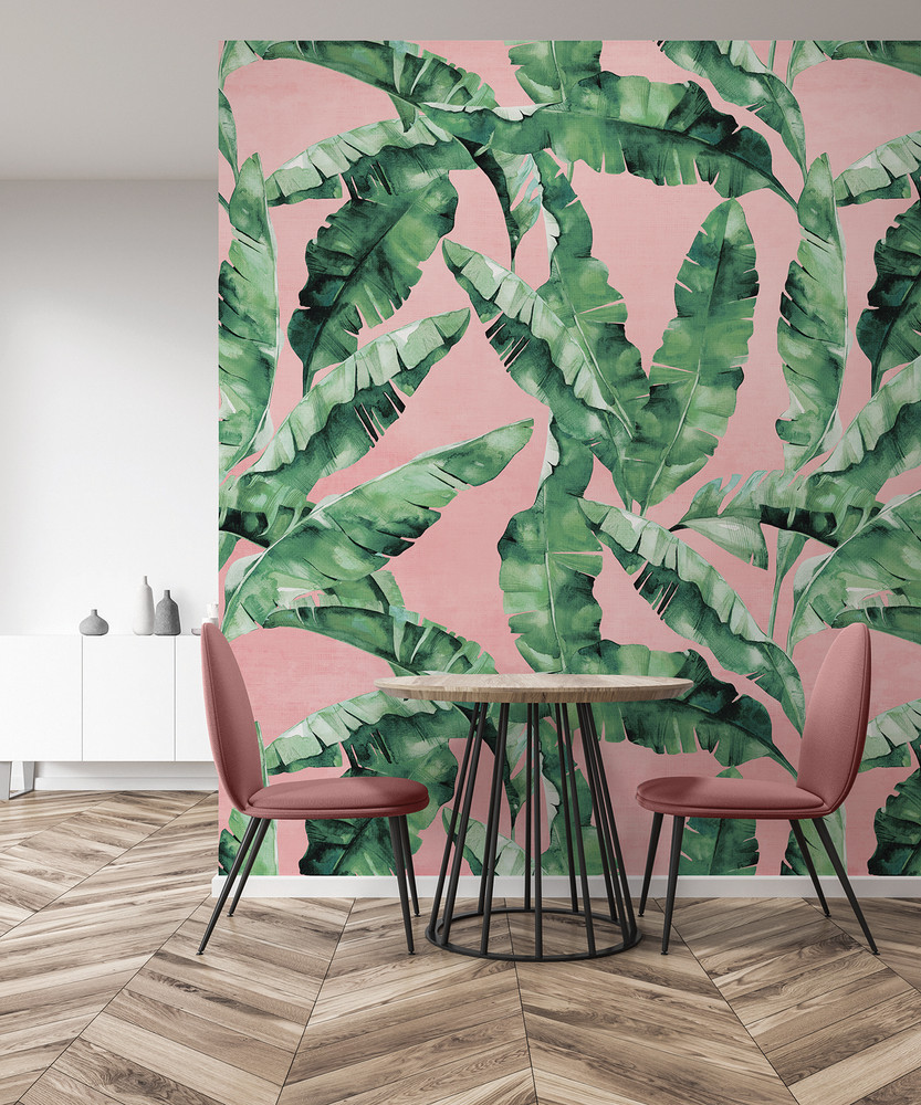 Mural - Bananarama Coral (Per Sqm)
