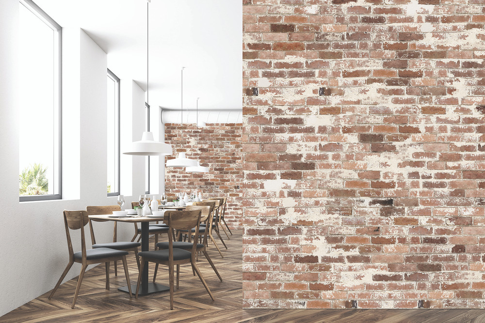 Mural - Bricks Studio Warm (Per Sqm)