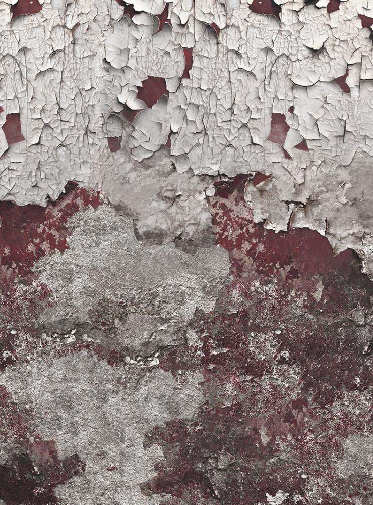 Mural - Concrete Grunge Red (Per Sqm)