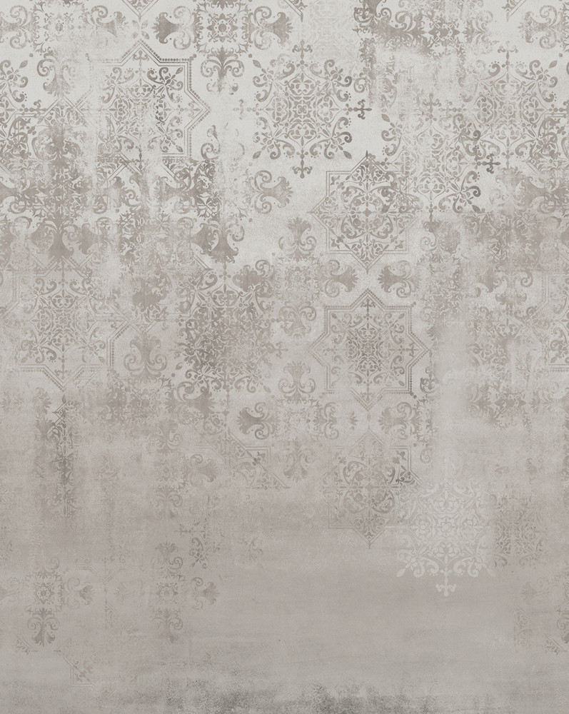 Mural - Morocco Haze Mushroom (Per Sqm)