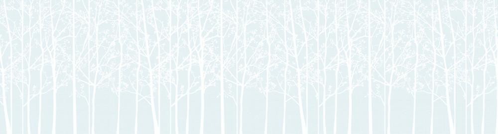 Mural - Silhouette Sky Blue (Per Sqm)