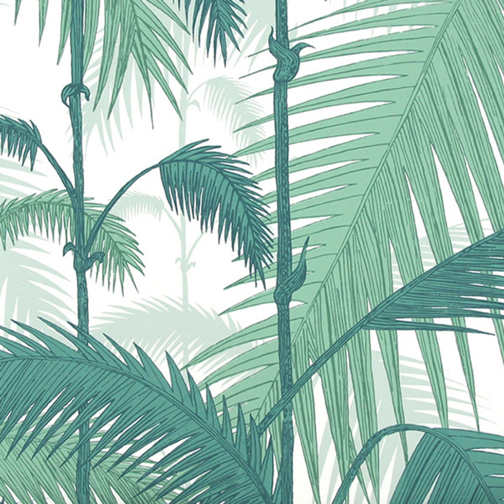 PALM JUNGLE - EMERALD GREEN